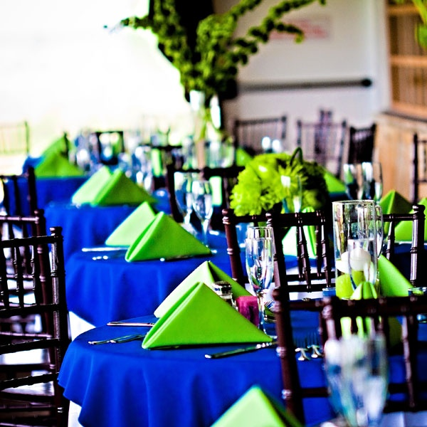 Lime Green Wedding Ideas: Lime Green & Royal Blue Images On