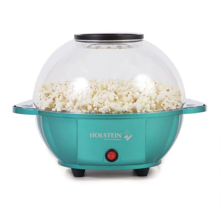 Features:  -Includes a recipe booklet to create a variety of delicious popcorn.  -Makes about 8 cups of popped kernel corn.  -Metallic color gives a touch of elegance in your kitchen.  -The 4.5 liter