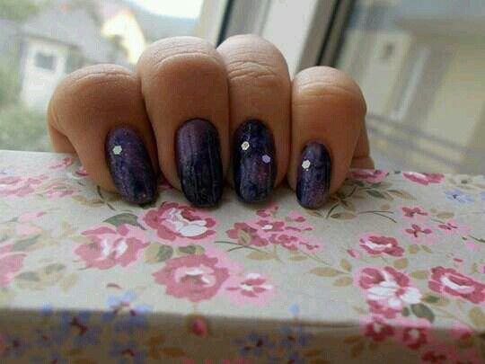 Milky way nails