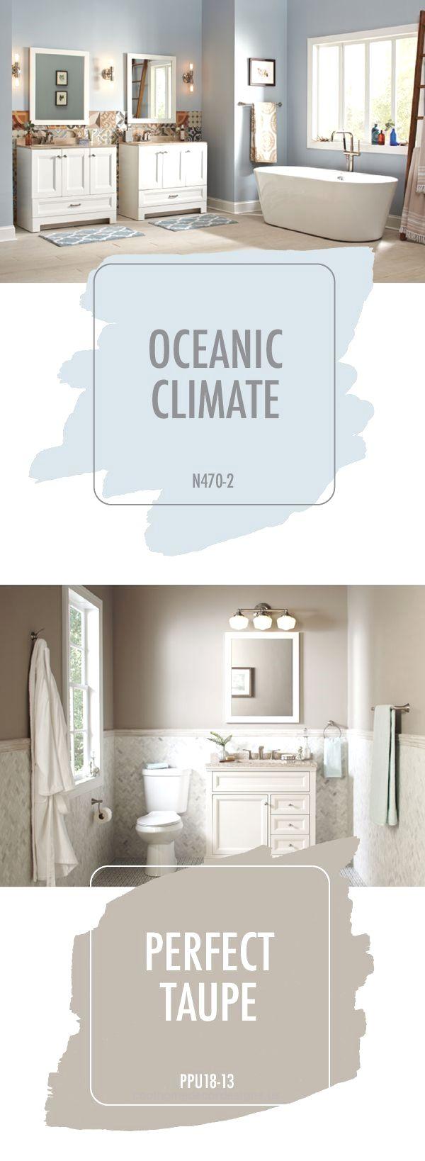 Les 25 meilleures id es de la cat gorie palettes de couleur taupe sur pinterest salles taupe - Choose bathrooms palette ...