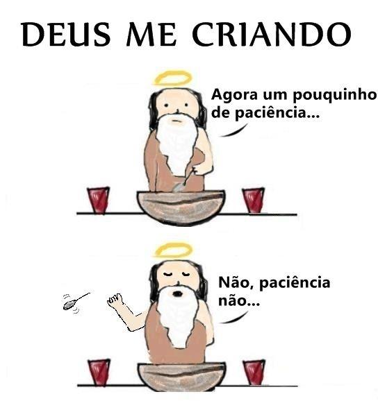 (ಠ_ಠ)  #paciencia #Deus