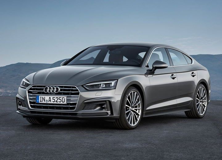 Audi: A5 (Sportback) (2017) looks almost like Tesla wow i love it!