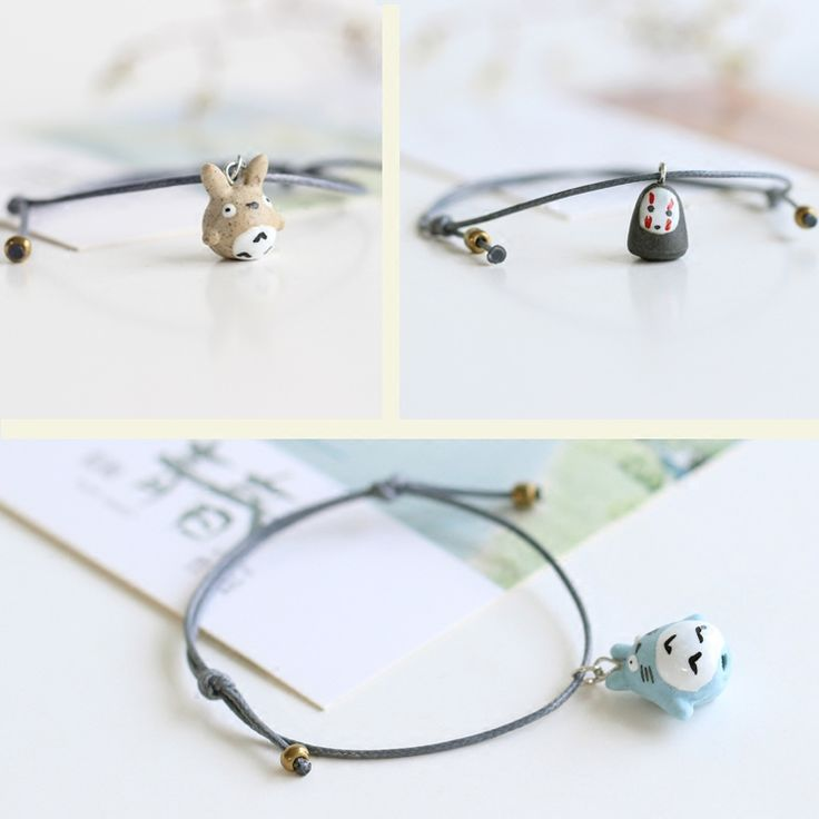 Totoro Bracelets //Price: $10.00 & FREE Shipping //     #totorostuff