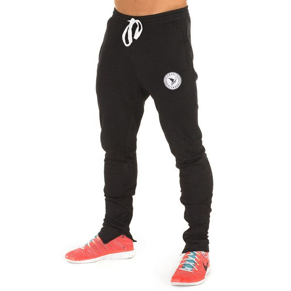 The PHXFIT Men's Premier Pants are the pinnacle of comfort and style. Our unique tapered design creates a stylish silhouette, whilst promoting an athlete's very best performance in the gym and beyond. Secure zip pockets mean nothing is compromised.  The Premier Pants are made from a performance blend of cotton and synthetic material, allowing for full, comfortable range of movement, whilst retaining a high quality sport-lux style.