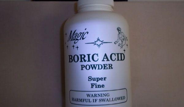 Boric acid vaginal treatment