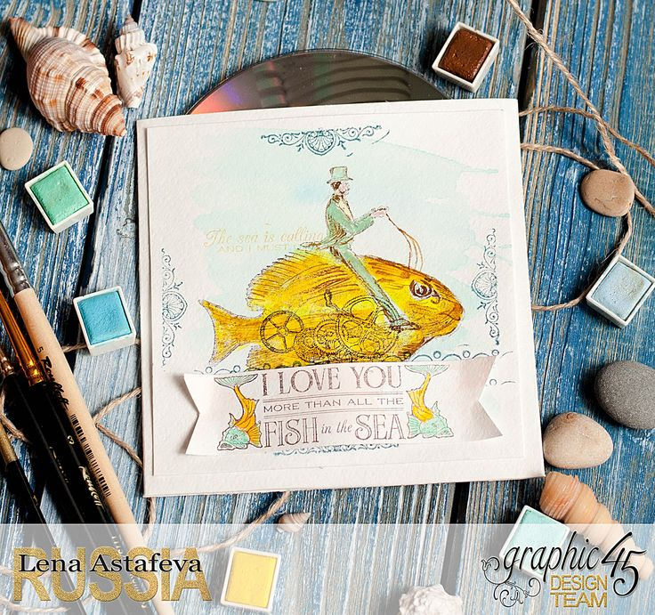 CD-holder-Voyage Beneath the Sea-by tutorial Lena Astafeva-product Graphic 45!