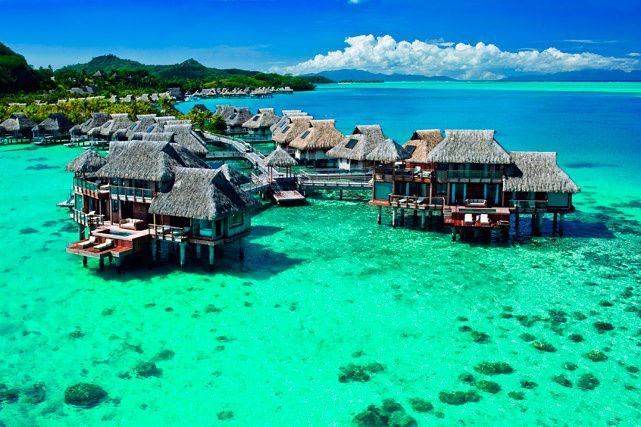 Hoteles de lujo: ¡Villas paradisiacas!  Planea tus vacaciones en alguno de estos bungalows y cierra este año como ningún otro.