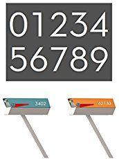 Midcentury Mailboxes!  Four great, affordable midcentury inspired mailbox options