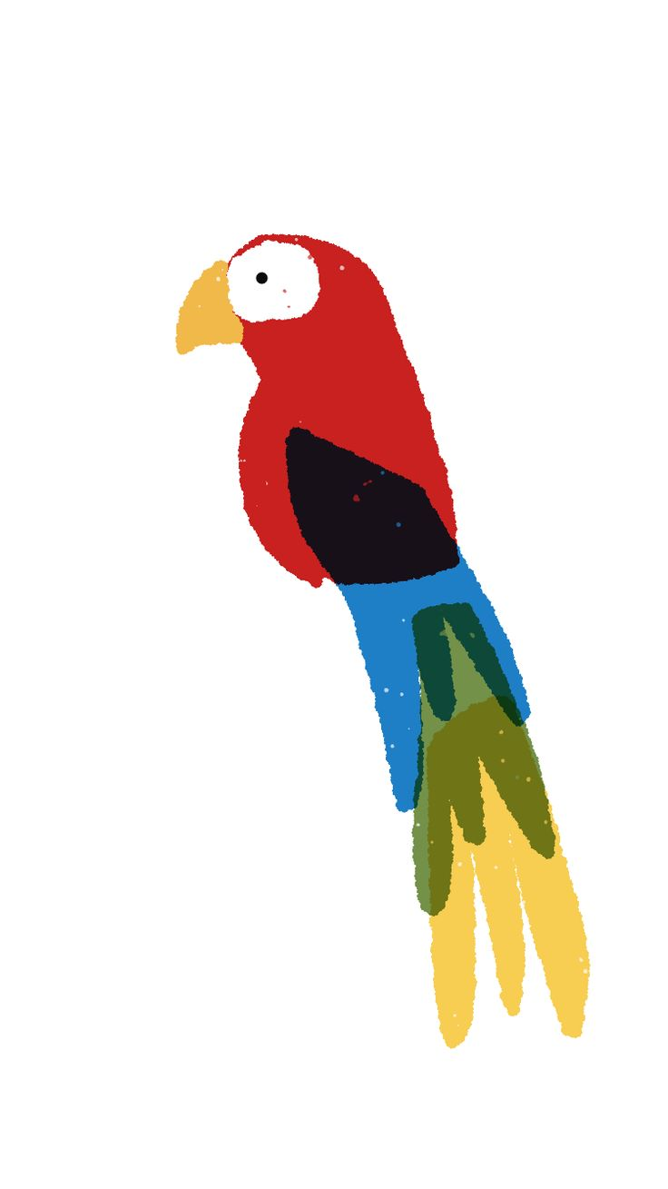 Part of my #100dayproject Guacamaya julianaduquedesign@gmail.com