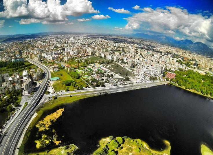 Liqeni i Tiranës #aerial