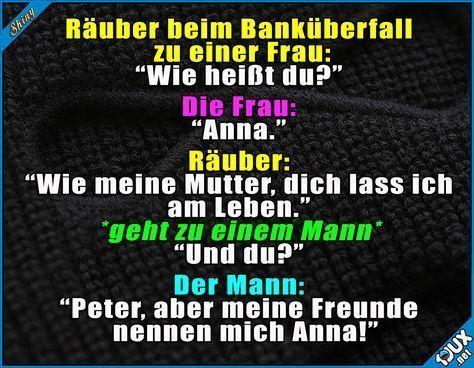 Zufällig heißen wir alle Anna! ^^' Lustige Sprüche und Bilder #Humor #lustig …