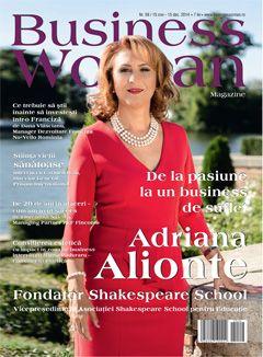 Aparitie in Business Women Magasine editia Noiembrie- Decembrie 2014