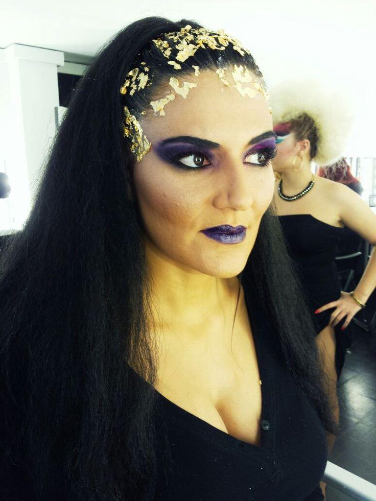 Maquillaje de belleza en el curso de maquillaje profesional de 10 meses we love make up en - Maquillage pin up ...