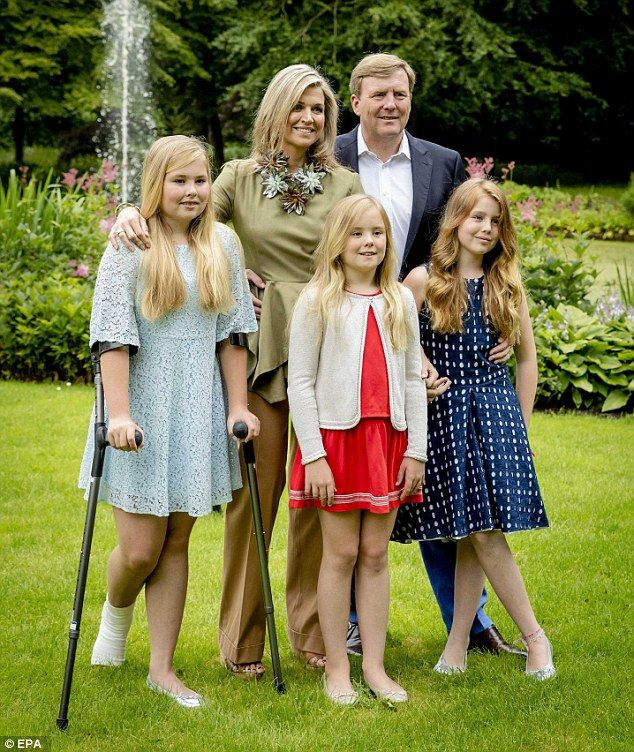 The Dutch royal family has been experiencing a run of bad luck of late as Queen Maxima alm...