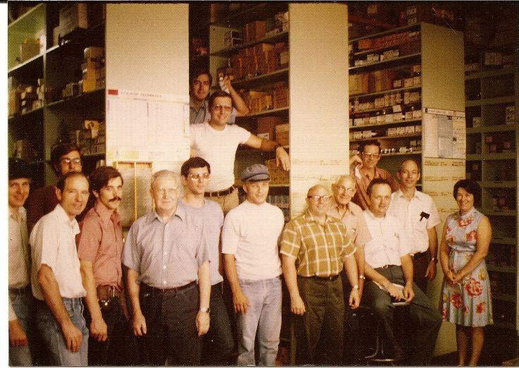 Electric shop crew  1980s (Roger Johnson)
