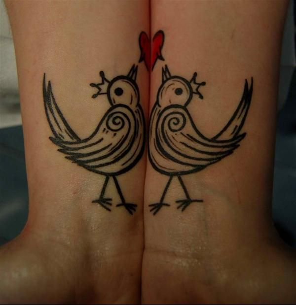Couples Tattoos Love Birds Tattoo Models Designs Quotes And Ideas was ...