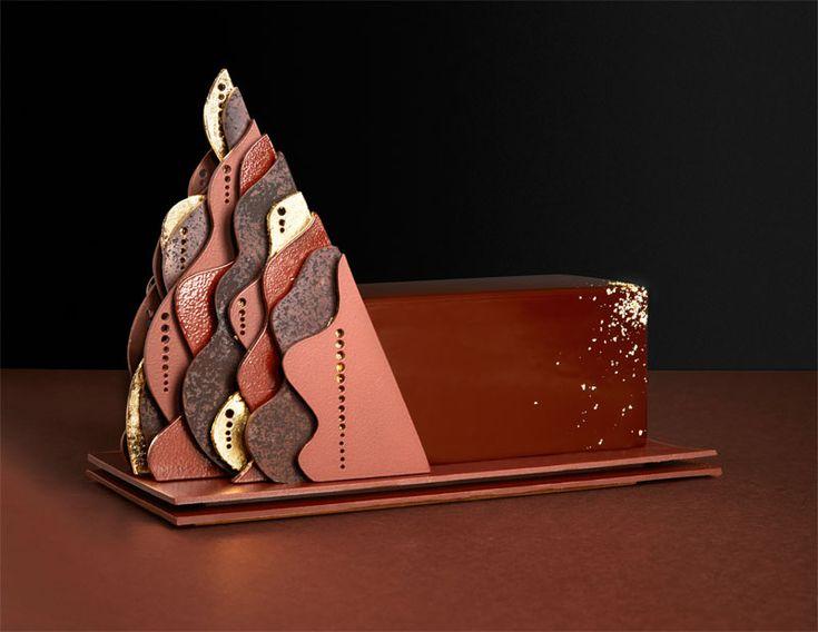 La bûche Volupté de La Maison du Chocolat #patisserie #gastronomie