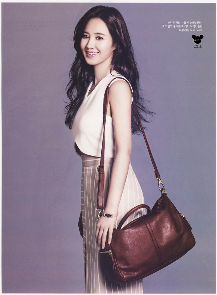 Yuri   InStyle Magazine May 2014 Issue   Fossil