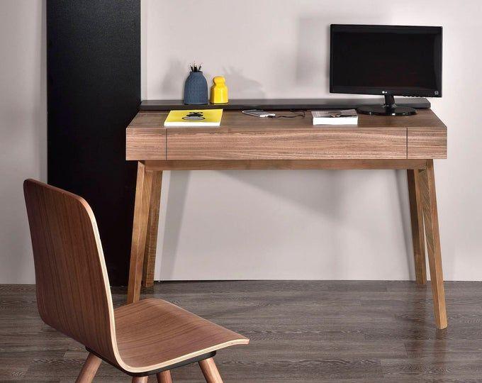 Modern Industrial Dining Table Desk Reclaimed Wood Top Steel Base Vintage Modern Loft Style Decor Industrial Dining Table Reclaimed Wood Desk Steel Desk