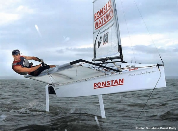 Moth sailing....in my dreams