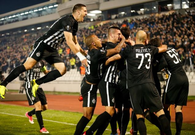Protiv koga će Partizan na proleće? Arsenal, Lacio, Milan, ili možda Napoli?