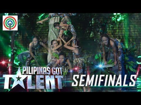 Pilipinas Got Talent Season 5 Live Semifinals: Sto. Tomas Bulilit Genera...