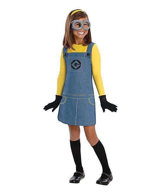 Blue & Yellow Minion Dress-Up Outfit - Kids