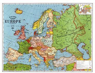 Europe during the interwar period, 1923 #map #europe