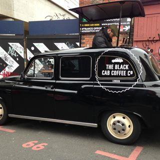 Coffee taxi, Brick Lane, London