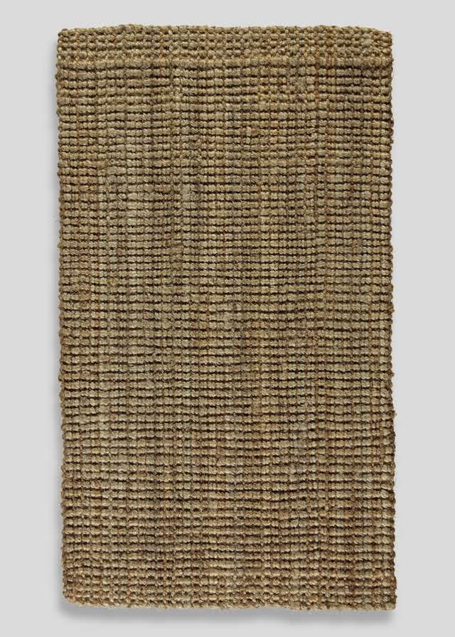 Heavy Jute Natural Boucle Runner (66cm x 200cm) View 1
