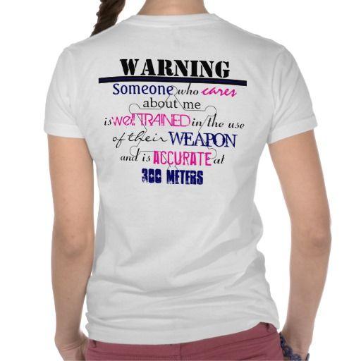 Warning, Deputy Sheriff Wife