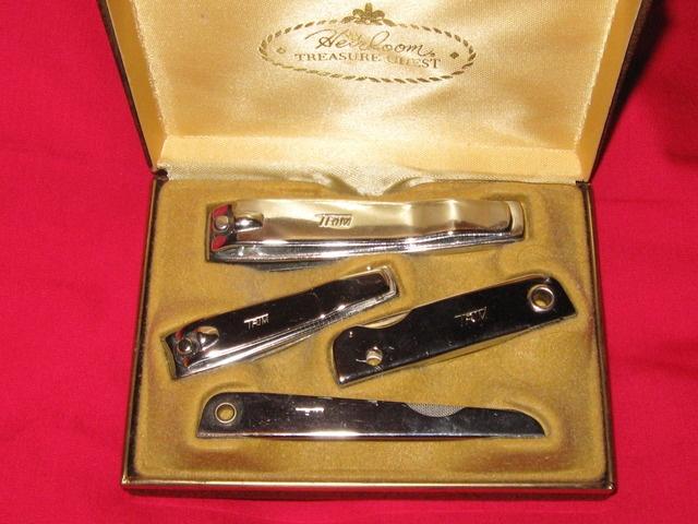 vintage heirloom treasure chest trim nail set