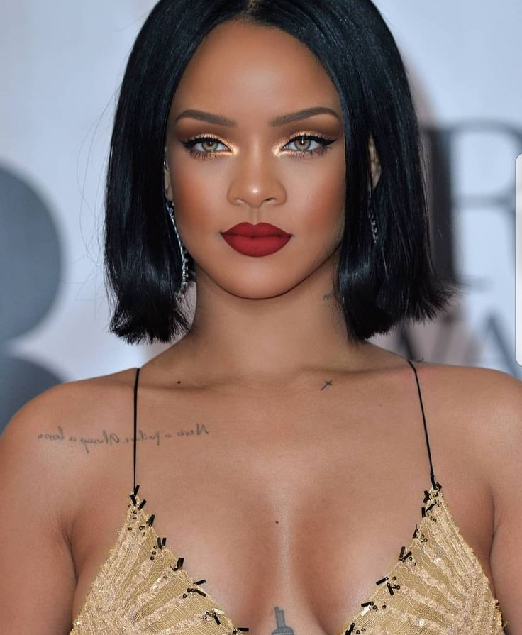 Rihanna Hairstyles Inspiration 1449 Best Rihanna Hairstyles Images On Pinterest  Make Up Looks