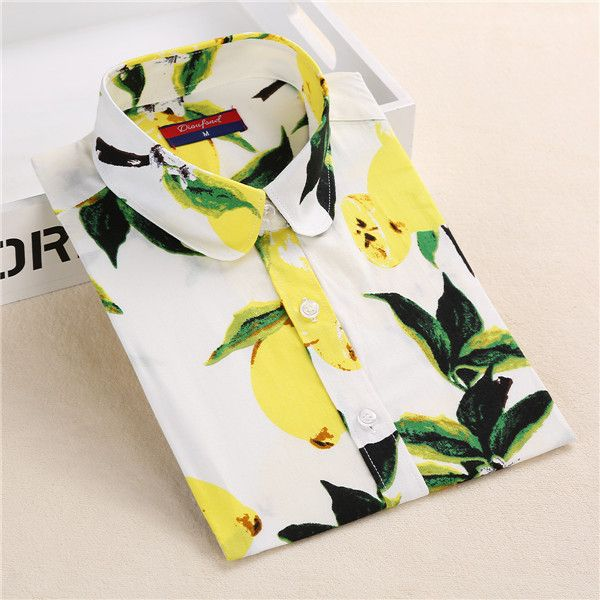 Dioufond Summer Floral Blouse Shirt Women Long Sleeve Tops Cotton Shirts White Navy Blouses Small Flower Blusas Femininas 2016-in Blouses & Shirts from Women's Clothing & Accessories on Aliexpress.com | Alibaba Group