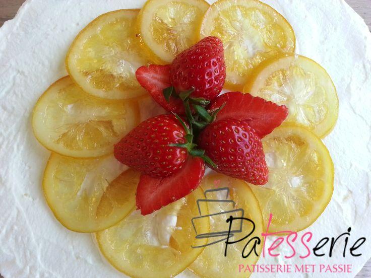 Recept voor het konfijten van citrusfruit. Ik gebruik het voor gebakvulling, taart decoraties of als fruitsnoepjes.