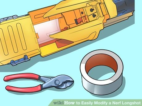 Image titled Easily Modify a Nerf Longshot Step 4