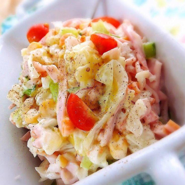 人気店の再現レシピも!コールスローサラダ【激うま】20選 - macaroni