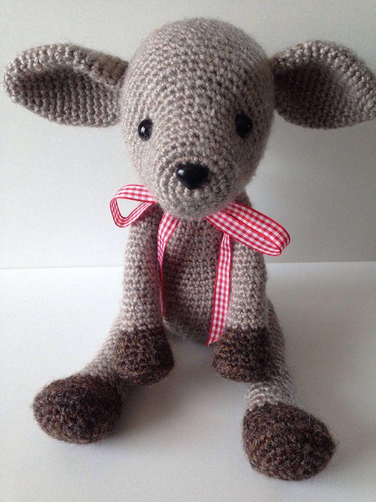 Deer Applique Free Crochet Patterns