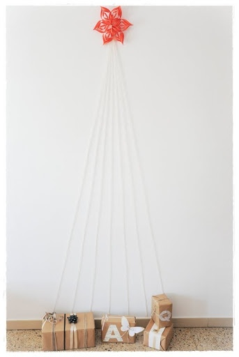 Lovely idea for a new kind of Christmas tree.
