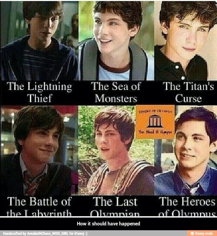 If the actorss age matched the characters age percy