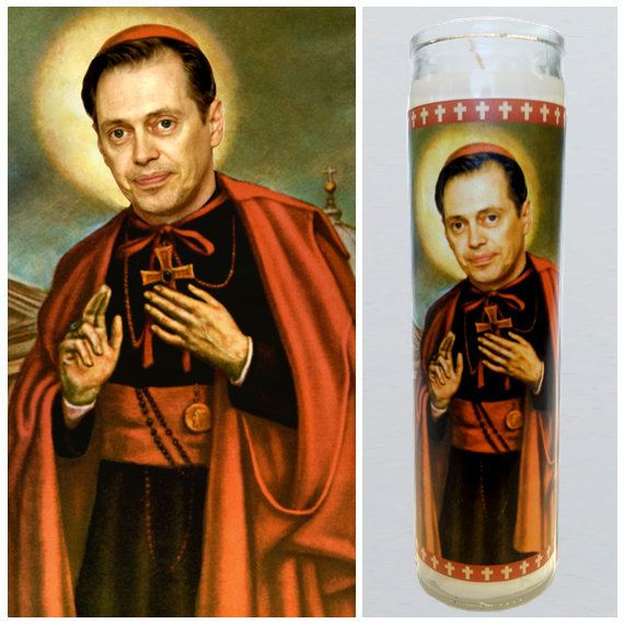 This Saint Buscemi candle: | Community Post: 18 Perfect Gifts For The Steve Buscemi Lover In Your Life