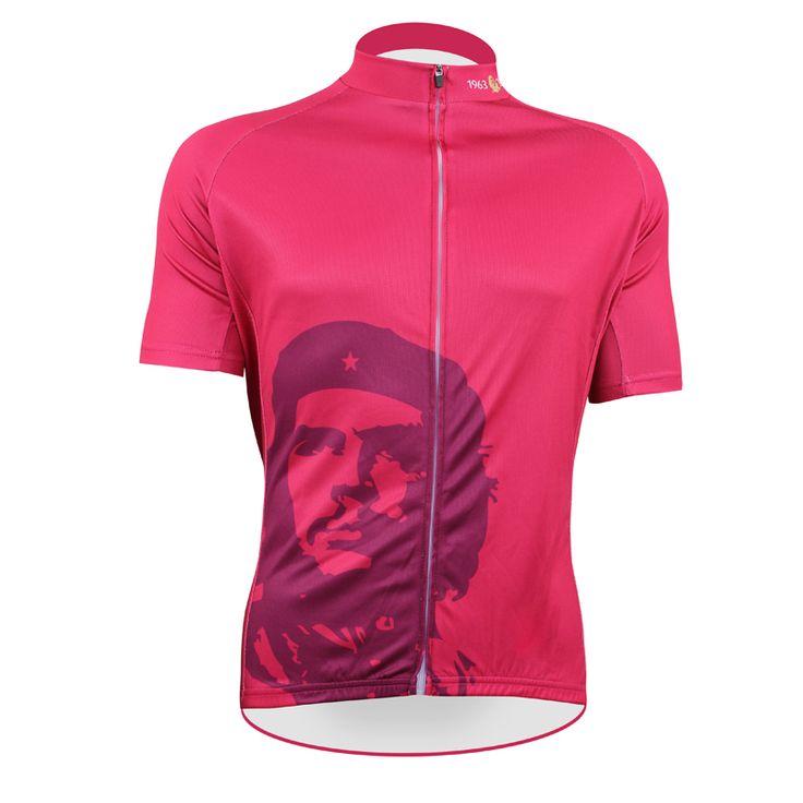 Нет : 50 красный пионеры че гевара чужой спортивная одежда мужские езда на велосипеде джерси езда на велосипеде одежда велосипед рубашка размер 2XS к 5XL