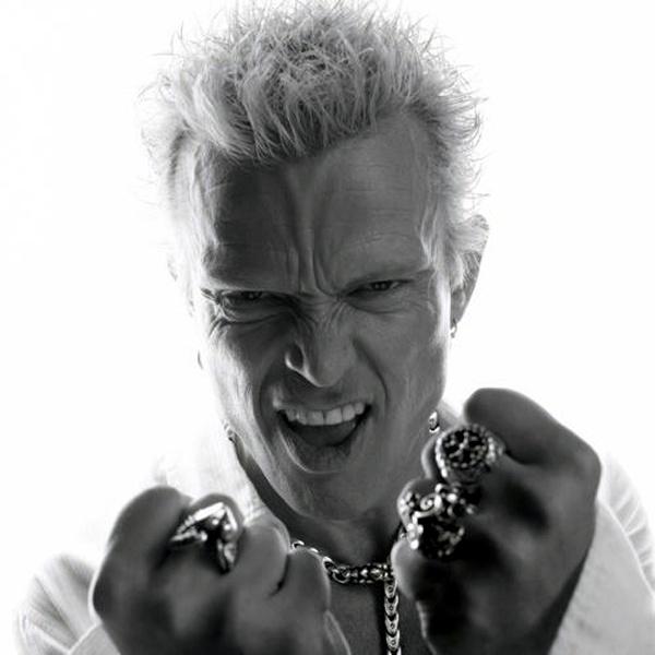 Billy Idol...whiplash smile!