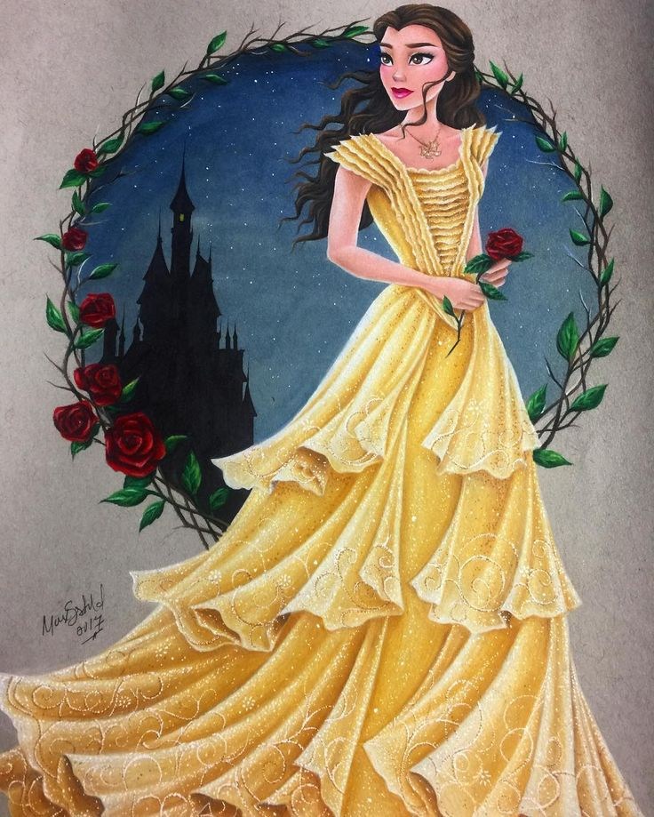 Princess belle portrait
