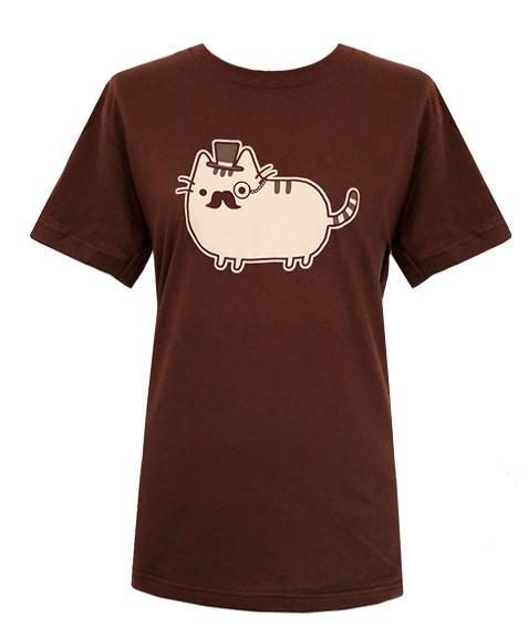 Fancy Pusheen T-shirt (mens)