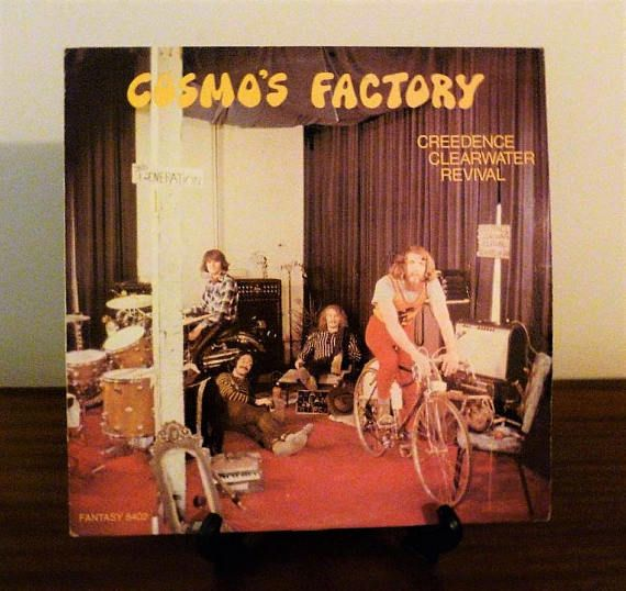 """$20    Vintage 1970 Creedence Clearwater Revival """"Cosmo's Factory"""" Vinyl LP Album Released by Liberty Records / Retro Music / Excellent Condition"""
