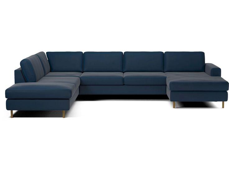 Sofaen Scandinavia gir deg frihet til å tilpasse en sofa etter ditt behov. Den kommer i mange, mange ulike modeller – fra sovesofaer til puffer med rom for oppbevaring og store hjørnesofaer. Og den kan være kledd opp i flere hundre forskjellige materialer og farger. Fyllet i sete- og ryggputene kan tilpasses den komforten du foretrekker. Til og med benene kan tilpasses. Velg deretter modell, komfort, eksteriør og ben. Når det er gjort, sørger vi for at du får en sofa som holder i mange år.