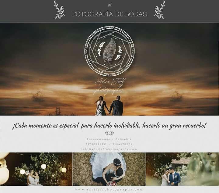 ¡Cada momento es especial  para hacerlo inolvidable, hacerlo un gran recuerdo!  | Fotógrafos de bodas | Filmación Cinematografíca | Bucaramanga / Colombia Contáctanos ✆ : 3173829422  / 3164670564 info@adrijeffphotography.com  www.adrijeffphotography.com  instagram:https://www.instagram.com/adrijeffphotography/  twitter: https://twitter.com/AdriJeff_Photo/  pinteres:https://es.pinterest.com/adrijeff_photography/  vimeo: https://vimeo.com/adrijeffphotography  #Fotografosdebucaramanga  #Bodas…