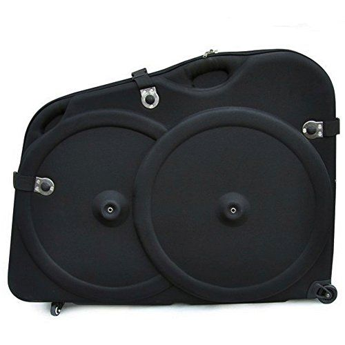 Bike Cargo Boxes - Bike Box for Air Travel JOYTU Hard Shell Bike Box for Shipping MTB Bike Case Road Bike Transport Case for Cyclist Fit 20Inch to 29 Inch Bikes Dahon BMC BH Schwinn Trek Scott etc Black -- Read more reviews of the product by visiting the link on the image.