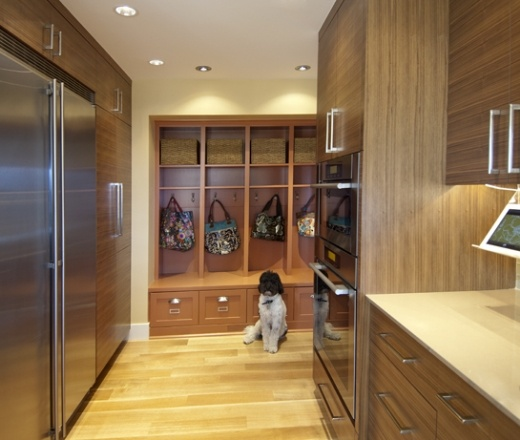Kitchen Cabinets In Seattle: Contemporary Galley Style Kitchen, Oak Cabinets, $50,000
